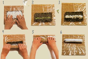 как приготовить роллы дома фото пошаговая инструкция